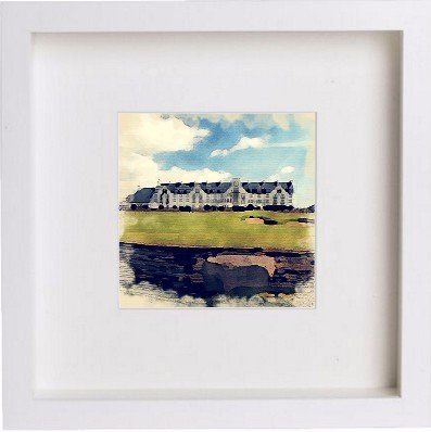Golf | The Carnoustie Golf Course | Box Framed Art Print | Perfect ...