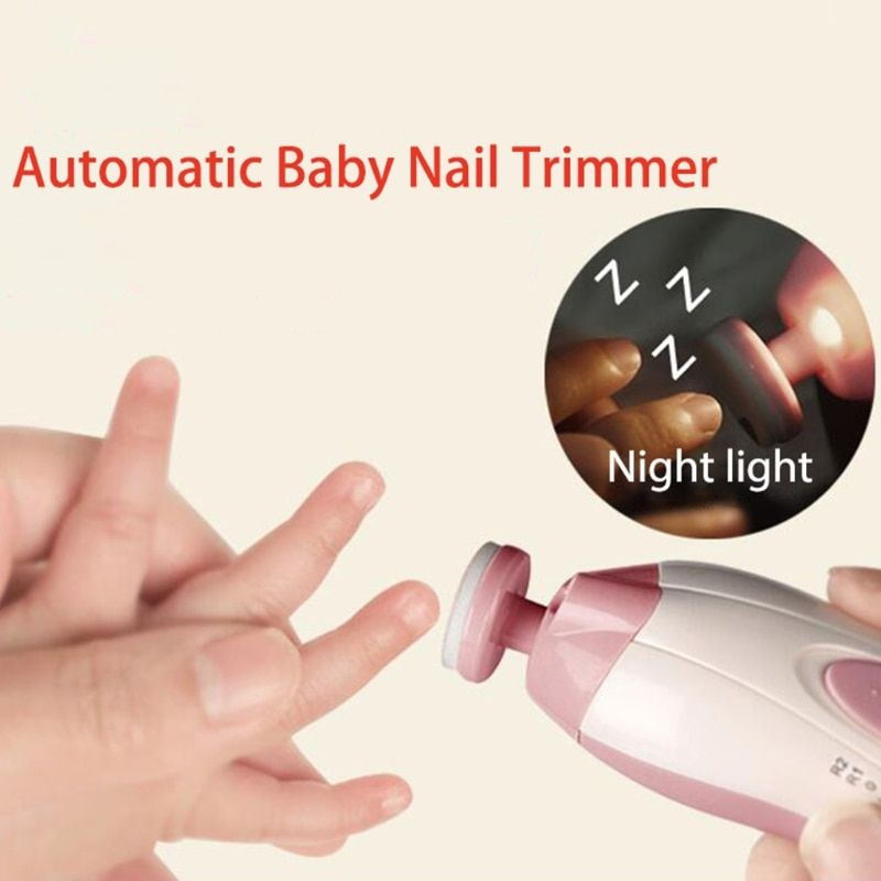 Electric Nail Trimmer - Your Baby Automatic Pain Free Nail Trimmer ...