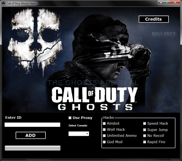 call of duty ghost credits