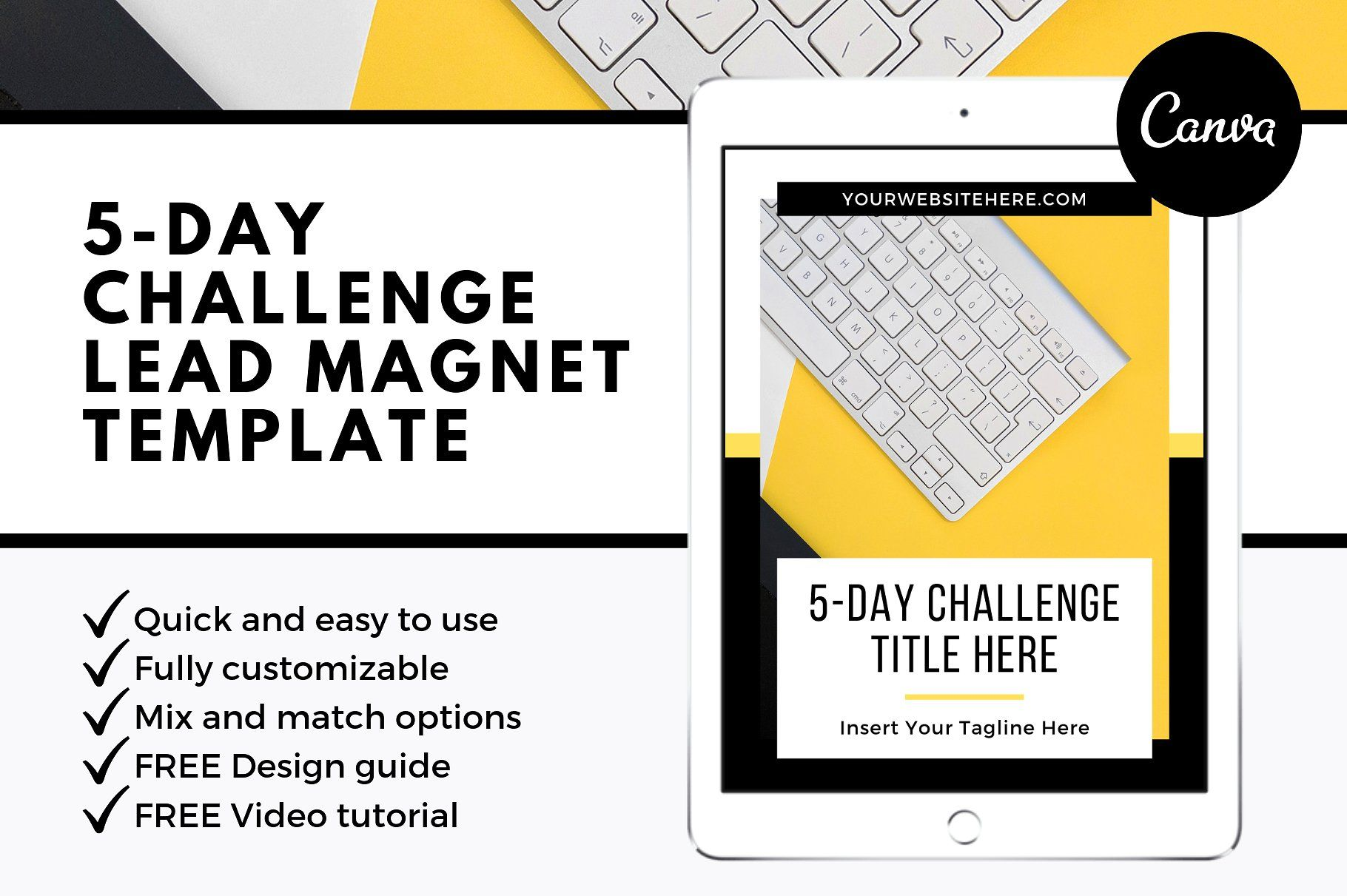 5 Day Challenge Lead Magnet Bundle
