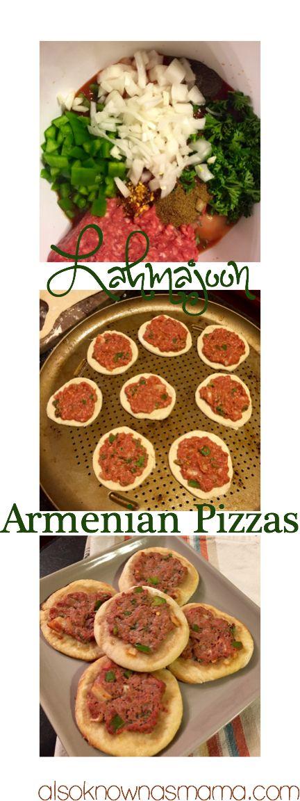 Lahmajoon: Armenian Pizzas - also known as mama