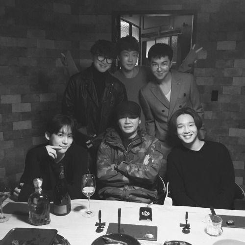 yg winner updates | INSTAGRAM] 151107 WINNER's official IG update with Yang Hyun-suk# ...