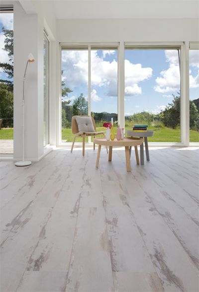 Alloc Original White Vintage Oak Beautiful White Washed