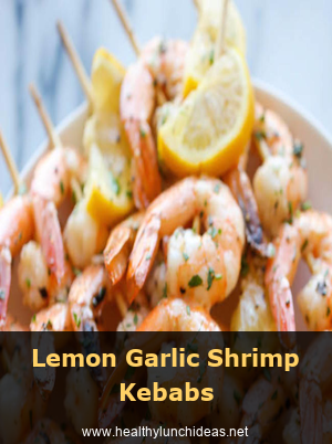 Lemon Garlic Shrimp Kebabs Keto Diet for Beginners | Keto Diet Recipes | Easy Ke…