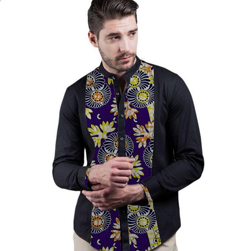 African Print Herren Dashiki Shirts benutzerdefinierte afrikanische ...