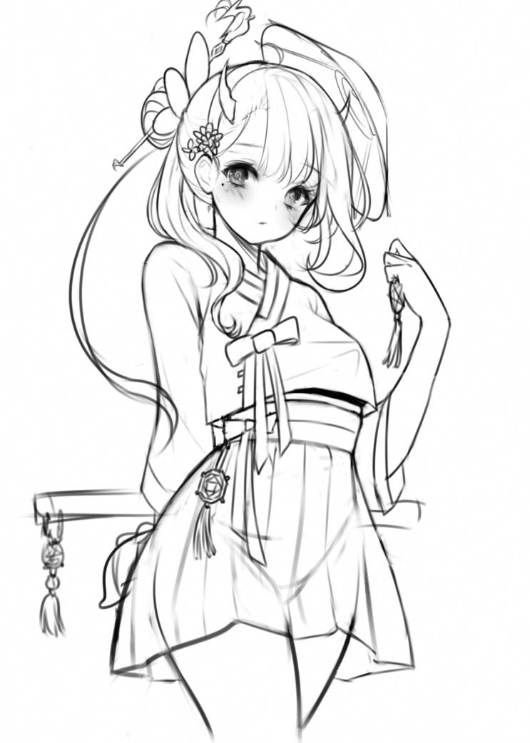 Lineart Otoya Anime Drawings Sketches Anime Lineart Anime Drawings