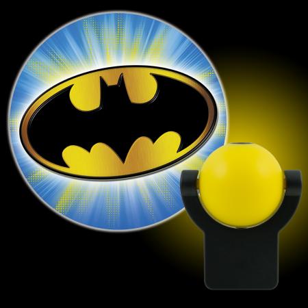 Projektable Dc Comics Batman Led Plug In Nachtlicht Fledermaussignal 14536 Walmart Com Batman Comics F Led Night Light Light Project Led Night Light Bulb