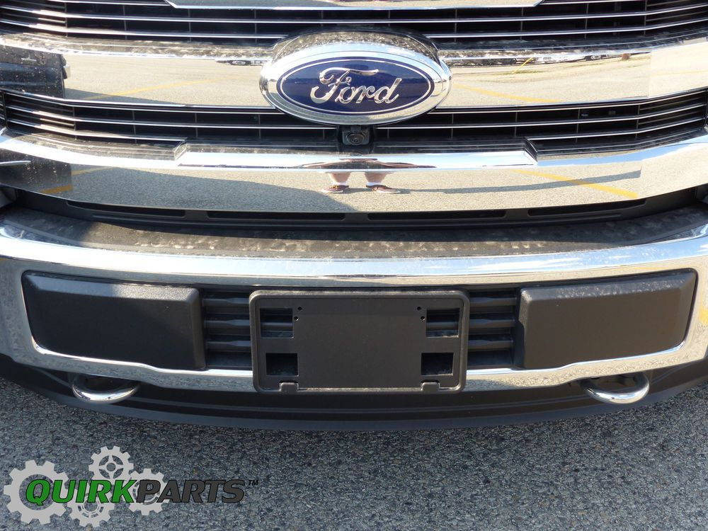 Details about 2015-2017 Ford F-150 Front Bumper & License