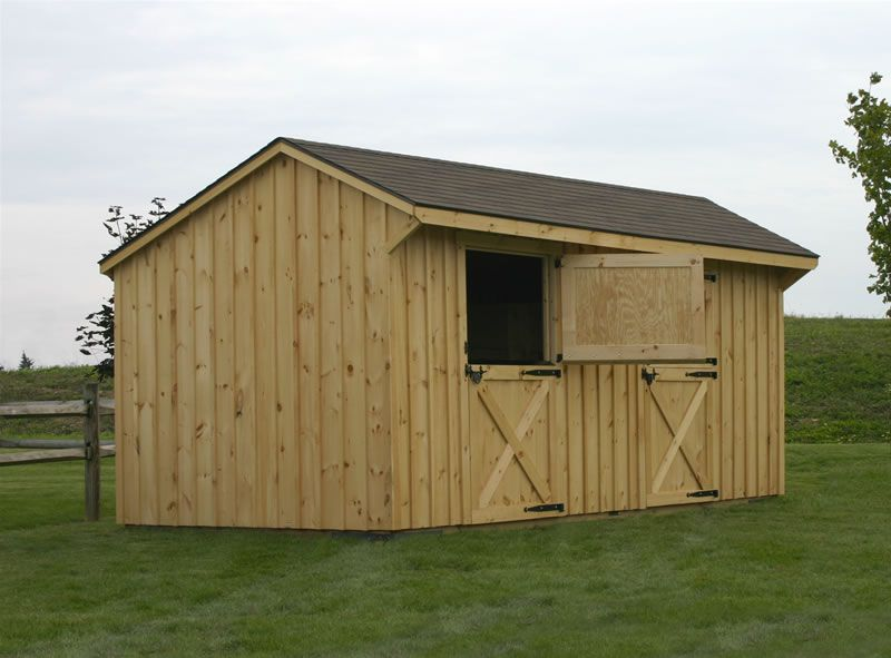 Barns pre built horse barns horses pinterest small for Pre built sheds