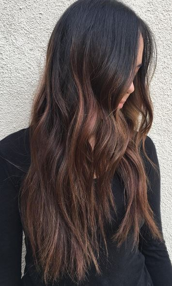 Best Hair Color Ideas 2017 2018 Winter Brunette Balayage Balayage Brunette Hair Color 2018 Brunette Balayage Hair