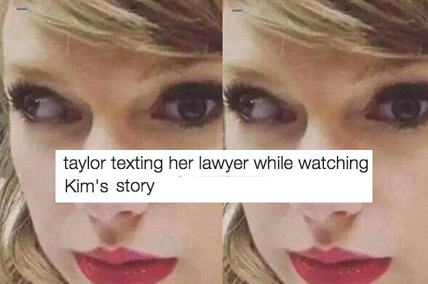 27 Of The Best Reactions To Kim K Exposing Taylor Swift On