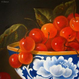 7 das Artes: Frutas e porcelanas.
