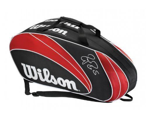 Wilson Federer 6 Racquet Bag Http Www Closeoutracquets Tennis And Racquetball Bags