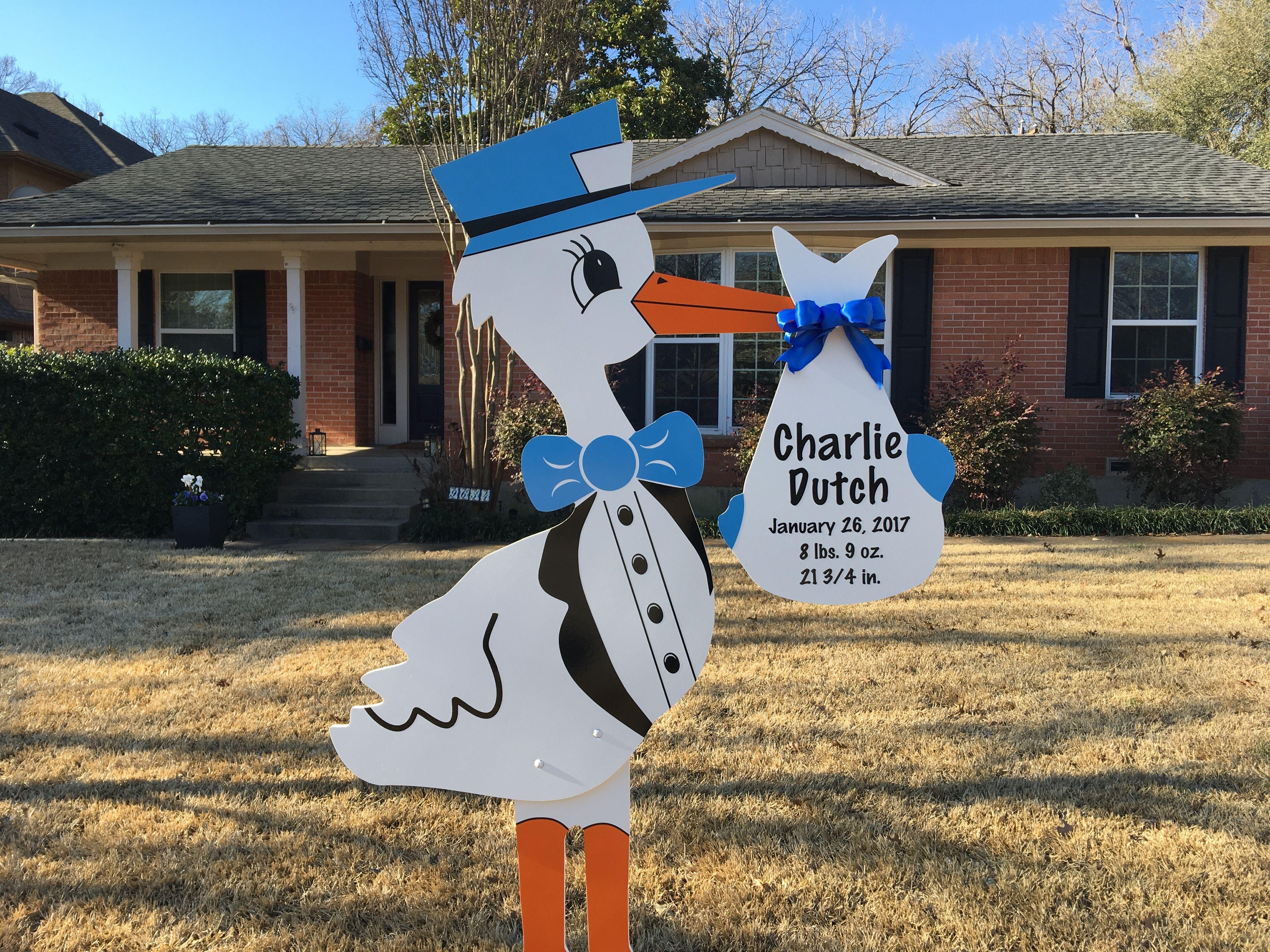 Lake Highlands Dallas Stork Yard Sign Storks More Of Dallas And Abilene Dallas 214 923 1569 Abilene 325 733 Stork Yard Sign Birthday Lawn Signs Abilene