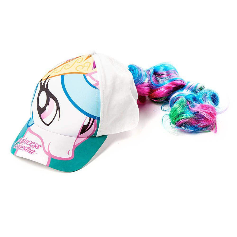 b69598eb0949b My Little Pony Princess Celestia Baseball Cap with Faux Hair