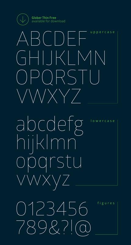 Free Sans Serif Rounded Font | DESIGN & FONTS | Fonts, Thin