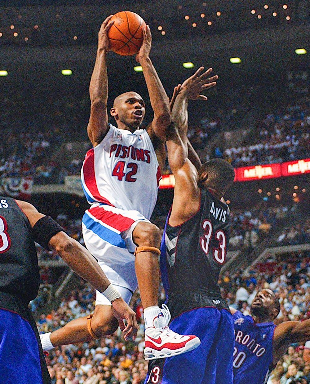 Jerry Stackhouse All time Detroit Pistons