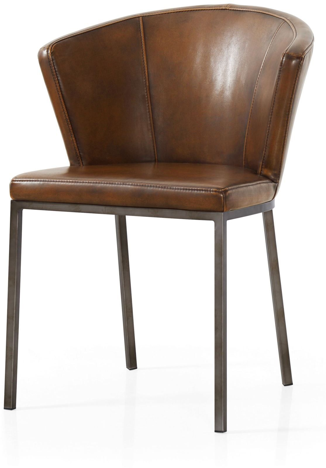 Industrial Interiors Perfectly Pair Style Curved Dining Dinning Rooms Top Retro Dining Chairs Retro Chair Leather Dining Chairs