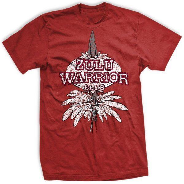 Hey Hey Zulu Warrior T Shirt Zulu Warrior