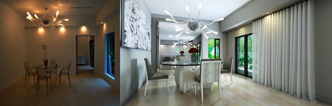 Explore A Stunning Redesign Of This Organic Dining Room
