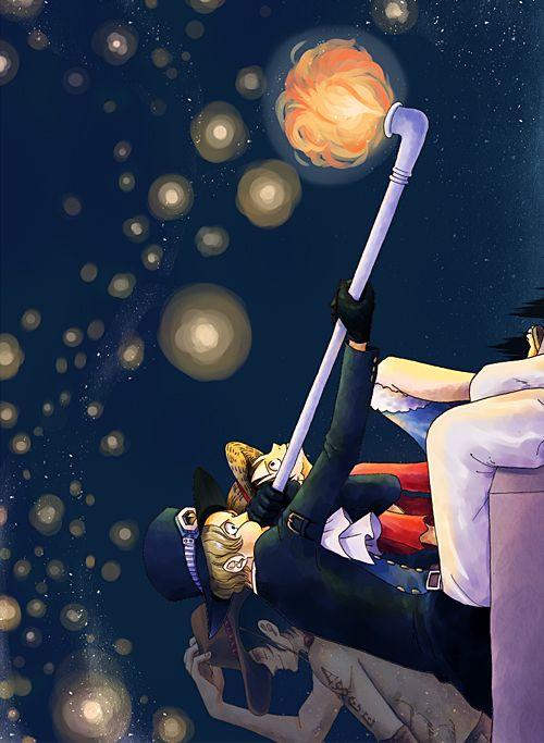 Portgas D. Ace,Monkey D. Luffy&Sabo, One Piece