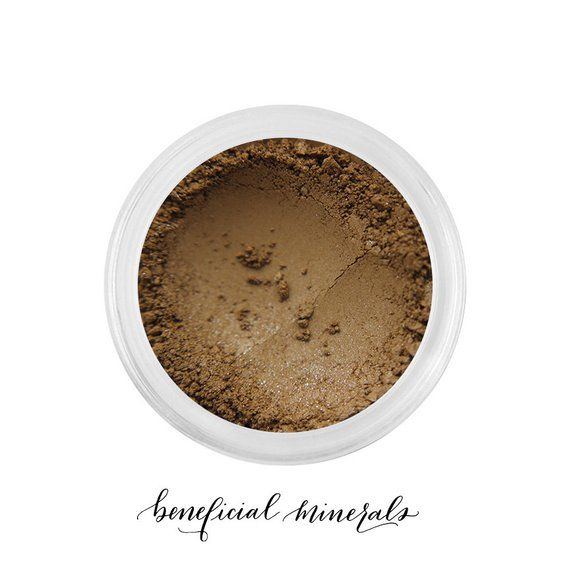 Cappuccino - Mineral Eyeshadow // Eyeshadow // Natural Makeup // Mineral Makeup // Brown Eyeshadow // Golden Makeup // Matte Pigment #browneyeshadow