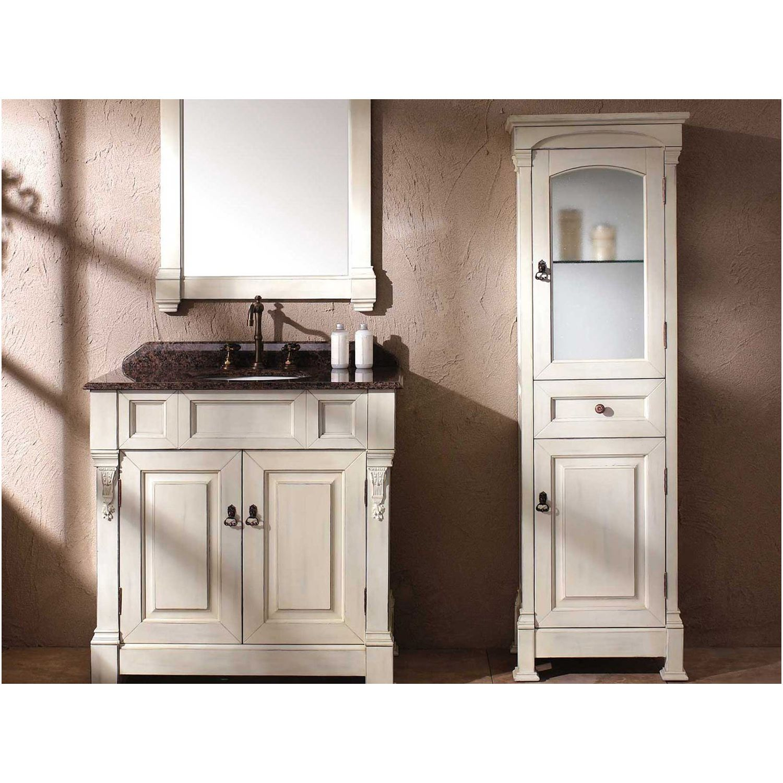 James Martin 147 114 5046 Storage Cabinets James Martin Brookfield Linen Cabinet Cottage White 147 114 5046 Linen Cabinet Bathroom Storage Tower White Linen Cabinet