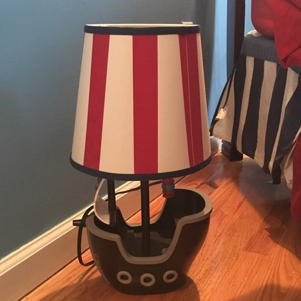 For Sale Circo Pirate Ship Table Lamp For 10