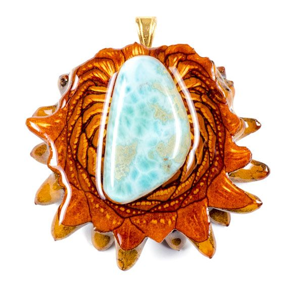 """Larimar - Found only in the Dominican Republic, Larimar is known as """"a stone of answers from the sea of consciousness"""", giving us greater freedom through self-honesty and truth-seeking. It is considered to be excellent for working with sea creatures of all kinds – especially dolphins – as well as opening the throat chakra and enhancing communication in general. In ancient folklore, Larimar was used for healing maladies of the throat and upper respiratory system. Visit…"""
