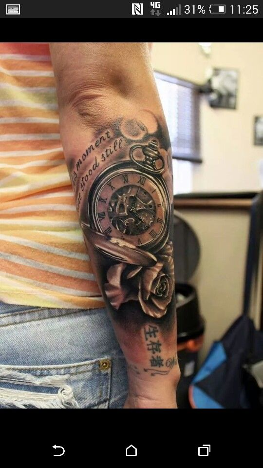 Clock Tattoo Mais Tattoos Tatouage Tatouage Horloge Tatouage
