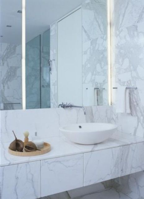 48 Wonderful Marble Bathroom Designs  48 Luxurious Marble Amazing Wonderful Bathroom Designs 2018