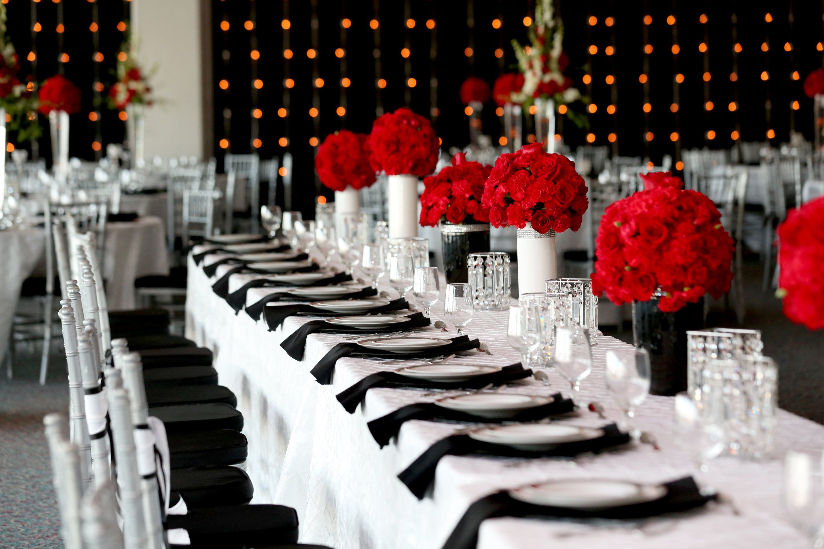 A Simple Black And White Color Palette With Red Accents Defined Shapes Brought Modern