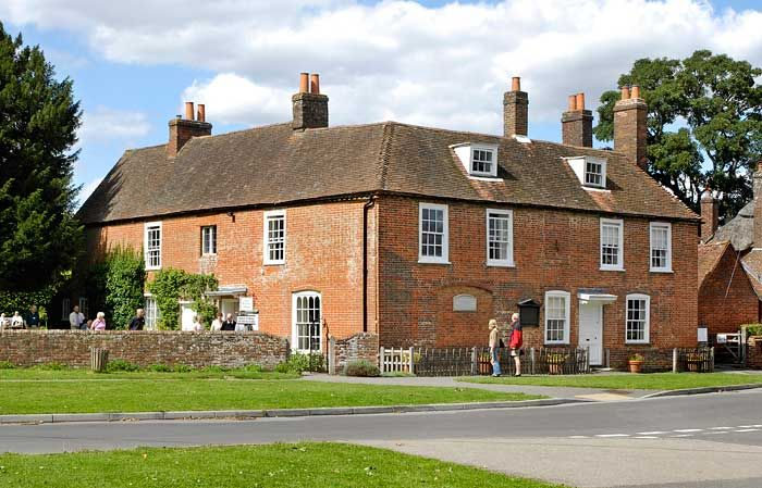Chawton - Jane Austen's home in Hampshire - a very informative and ...