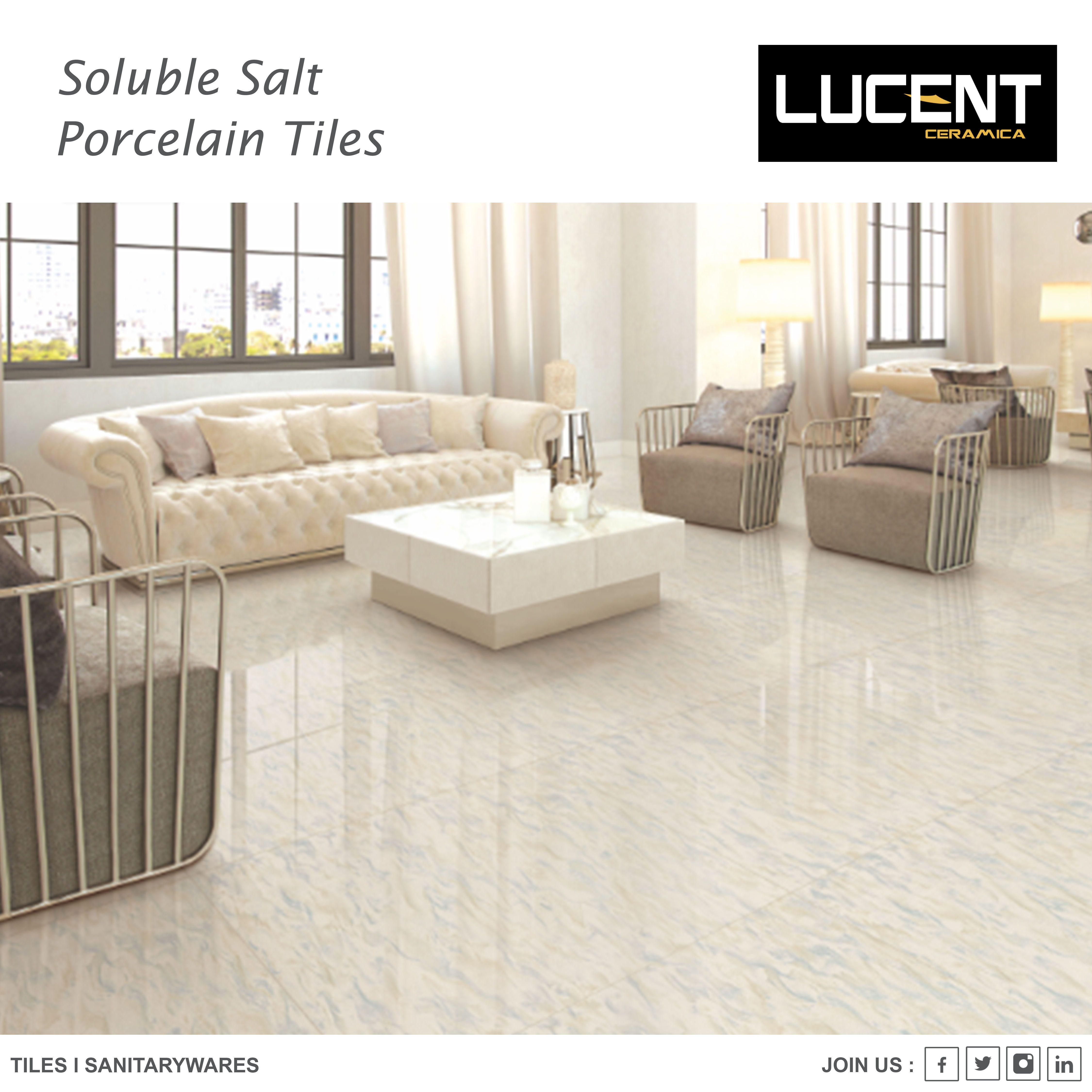 Lucent Ceramica Soluble Salt Nano Vitrified Tiles Nanovitrified