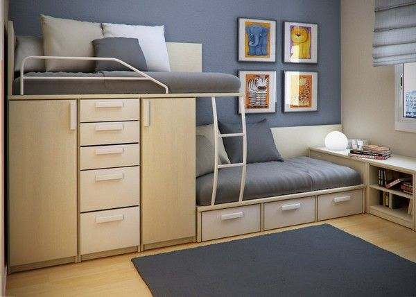 Space Saving Bedroom Furniture Amusing 15 Original Space Saving Beds Show How Much Space A Single Piece Design Decoration