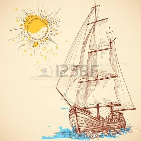 Voilier dessin voilier gwo dzie statki odzie latarnie morskie itp paisaje marino - Voilier dessin ...