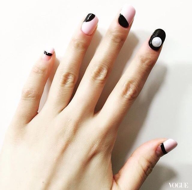 Source From Vogue Nails Art Pinterest