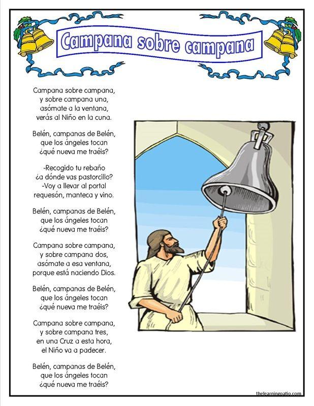 What S New The Learning Patio Cantos Para Posadas Villancicos Navideños Cantos Navideños