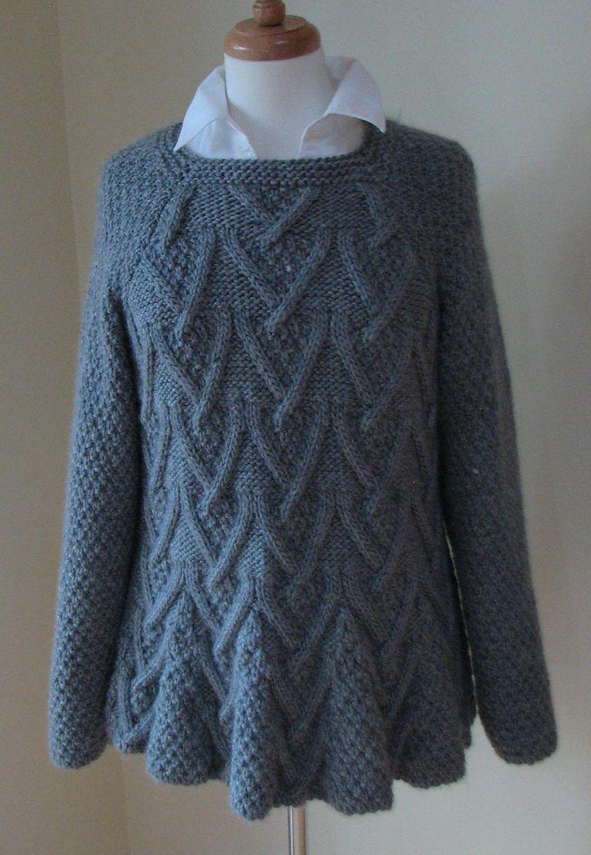 Tunic And Dress Knitting Patterns Tunic Knitting Patterns Aran Knitting Patterns Sweater Pattern [ 1112 x 768 Pixel ]