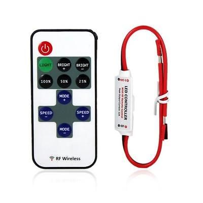 For 3528 5050 led strip mini led controller dimmer rf wireless lerway mini led controller dimmer with rf wireless remote control dc instructions dimmer dynamic 8 dynamic effects dimmer 256 mozeypictures Gallery