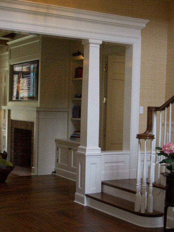 Support beam detailing woodwork ideas for the home for Interior columns design ideas