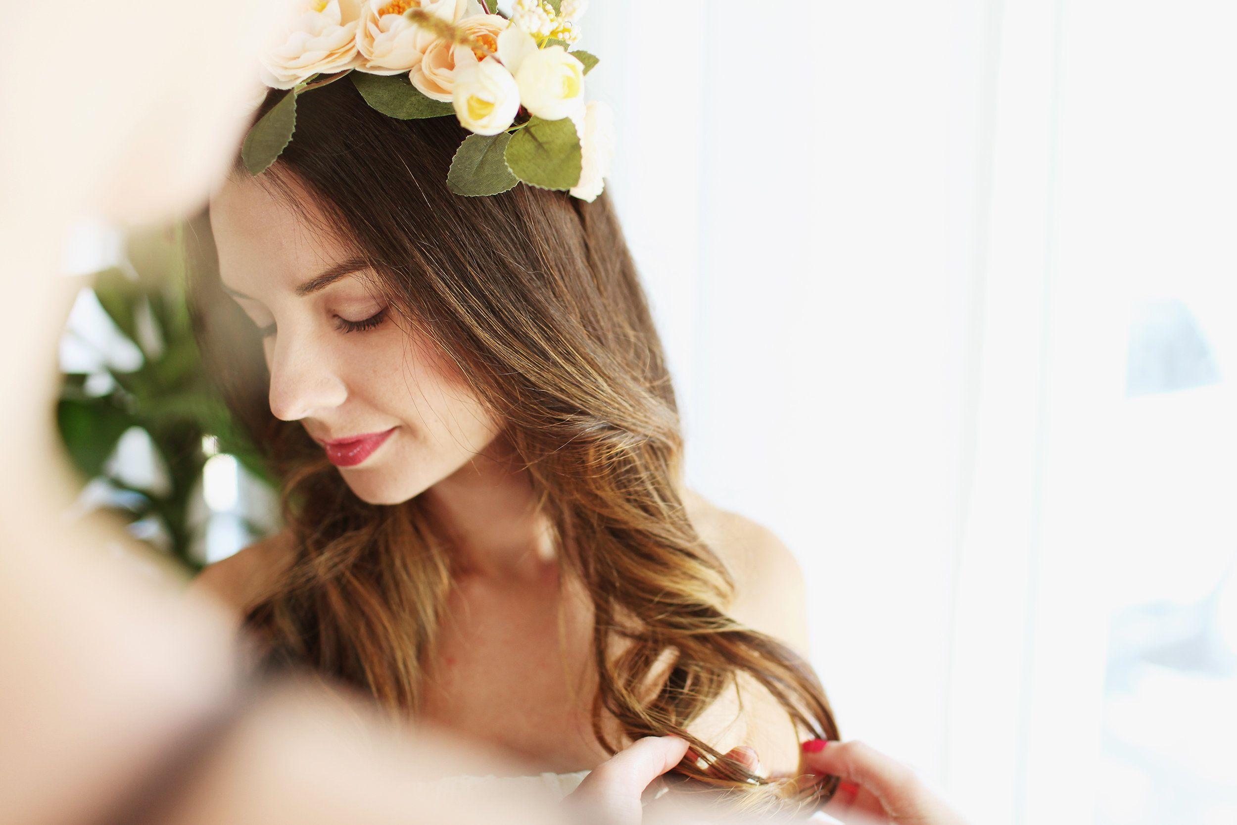 st augustine weddings. bardot beauty bar. pink bus. hair and makeup