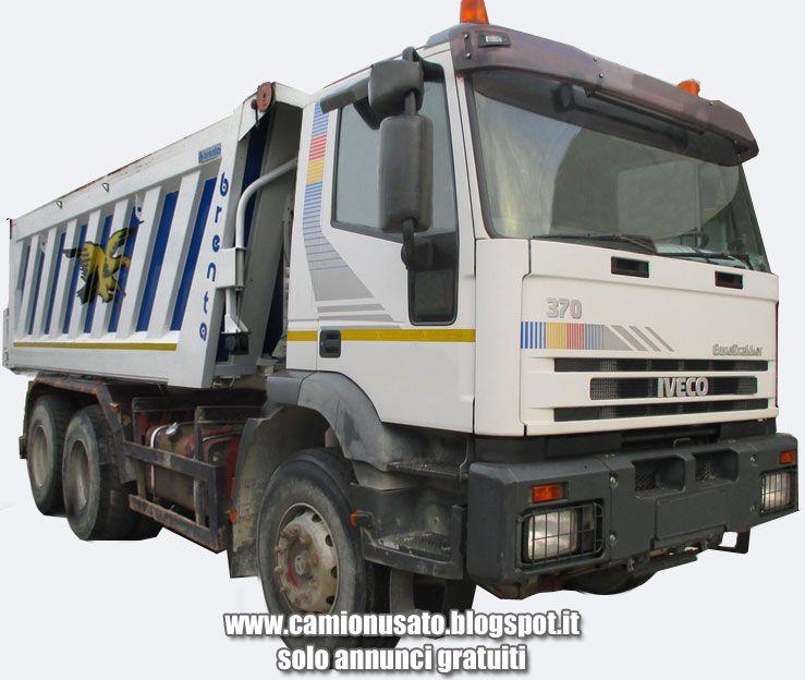 Camion usati e mezzi industriali: IVECO EUROTRAKKER 380E37 H 6x4 RIBALTABILE POSTERI...  Mezzi ...