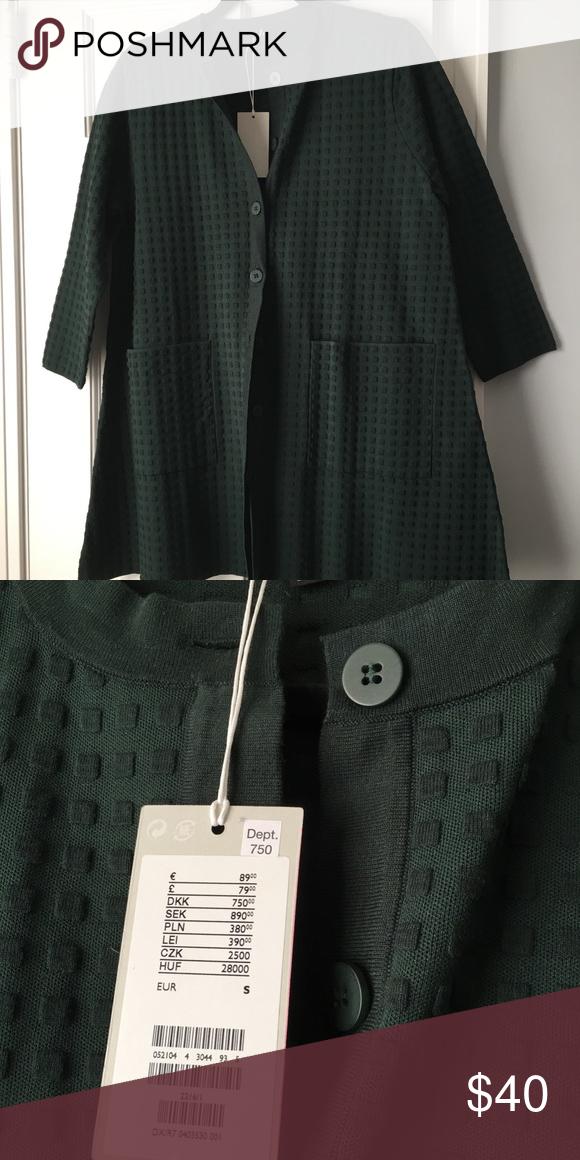 zakupy różnie sprzedawane na całym świecie COS swing sweater. Brand new. Tags still on. Hunter green ...