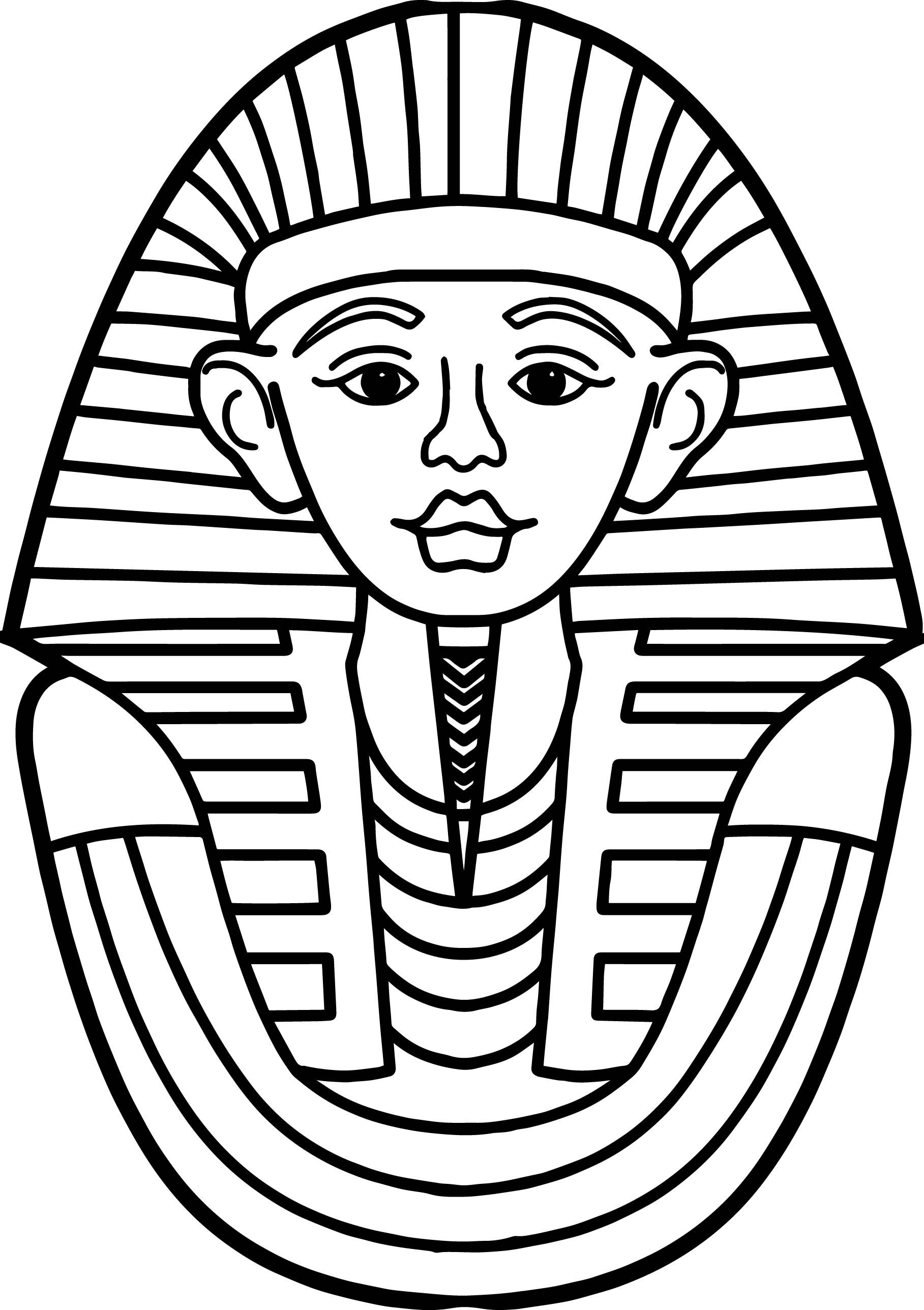 Awesome Ancient Egyptian Face Coloring Page Bible Coloring Pages Free Coloring Pages Coloring Pages Inspirational