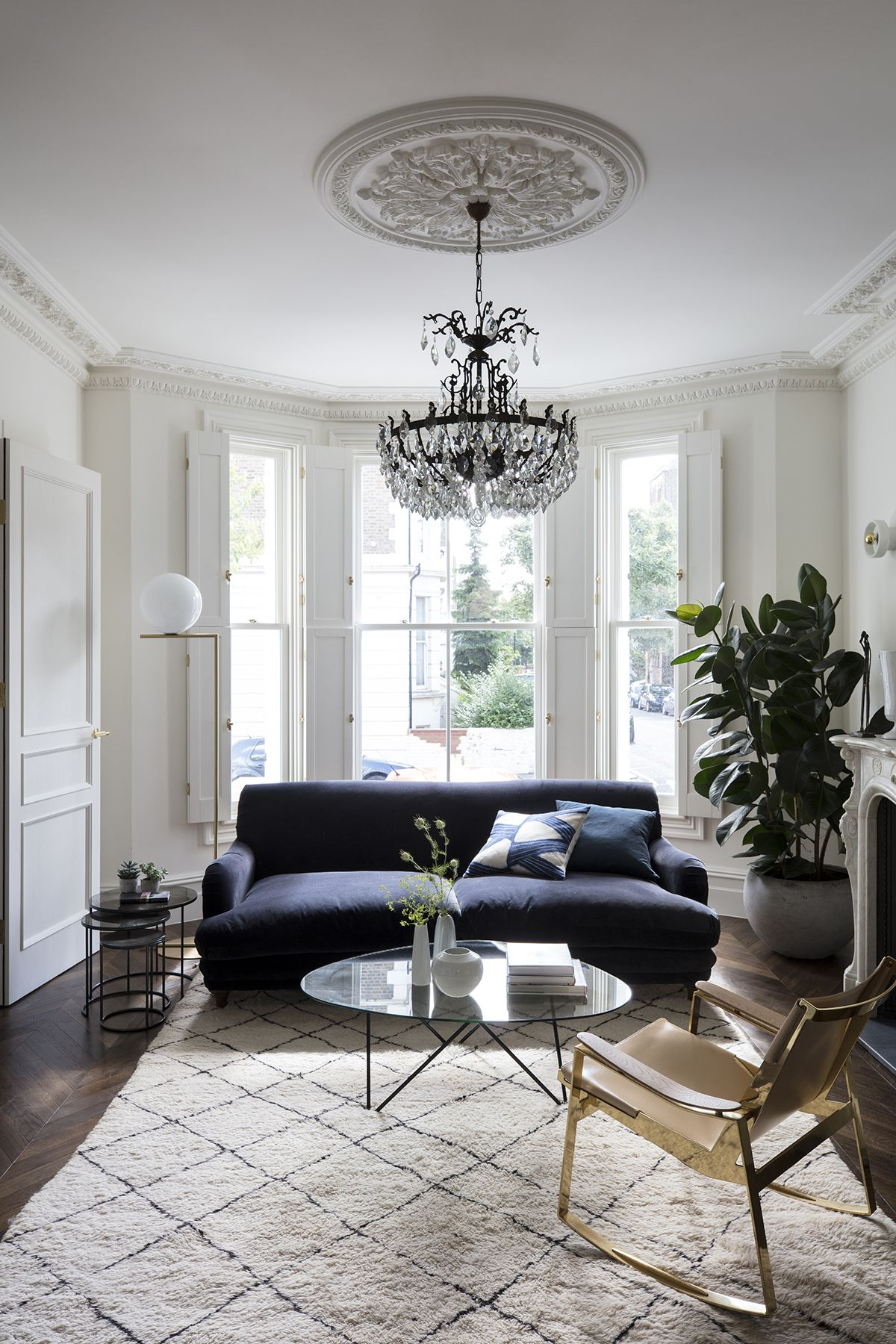 Take a tour of this grand Victorian home with the perfect blend of old and new designs
