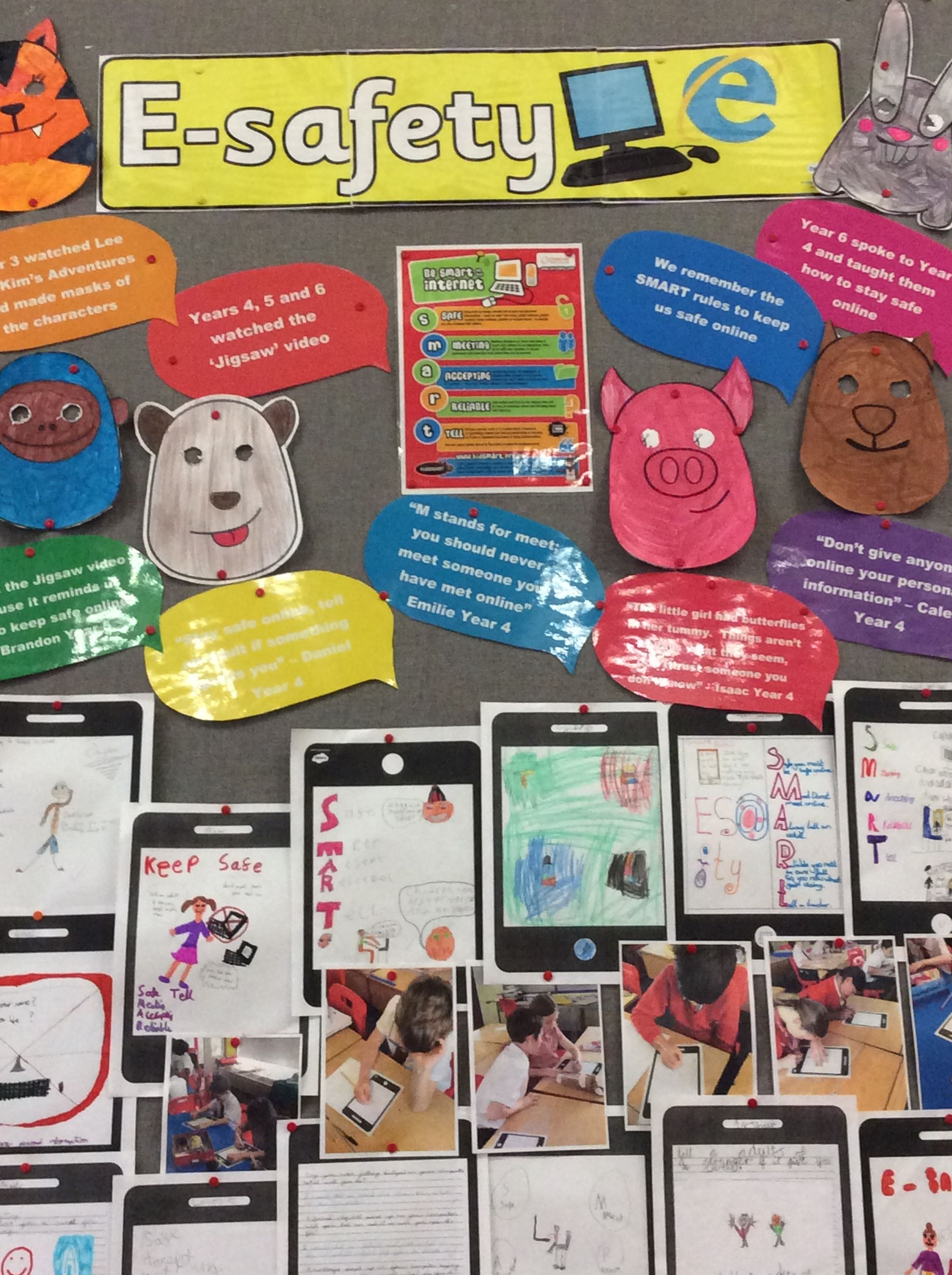 Image result for esafety display ks1 Classroom displays