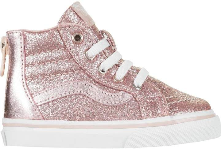 57d76c7fb19c Vans SK8-Hi Zip Skate Shoe - Toddler Girls