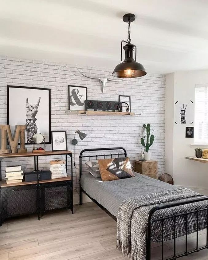 40 Brilliant Under The Stairs Employment Ideas: 50 Beautiful Farmhouse Master Bedroom Decor Ideas