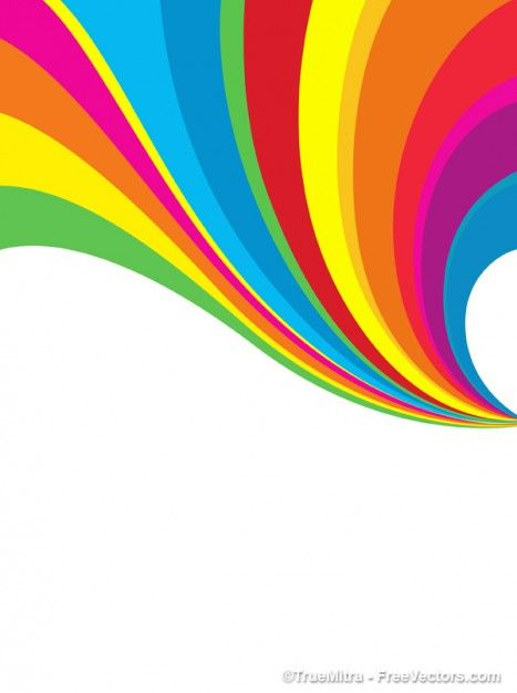 Free Graphic Resources For Everyone Rainbow Background Vector